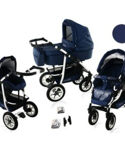 Kinderwagen 3 in 1 Bavario Liv Deep Seas product foto