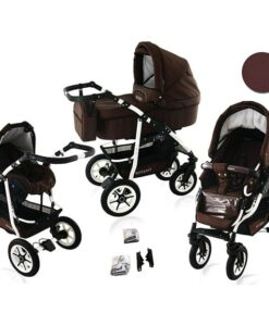 Kinderwagen 3 in 1 Bavario Liv Earth product foto