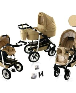Kinderwagen 3 in 1 Bavario Liv Sands product foto