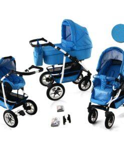 Kinderwagen 3 in 1 Bavario Liv Skyz product foto