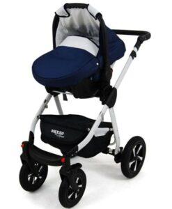 Kinderwagen 3 in 1 Nexxo TwoTone met autostoeltje