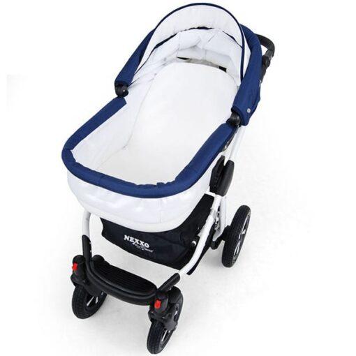 Kinderwagen 3 in 1 Nexxo TwoTone reiswieg