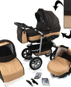 Kinderwagen 3 in 1 CityGO diamond black sand