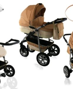 Kinderwagen 3 in 1 CityGO light orange sand