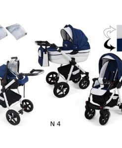 Kinderwagen 3 in 1 Nexxo TwoTone Diamond Blue productafbeelding