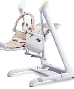 Kinderstoel 2 in 1 Caretero Indigo beige swing