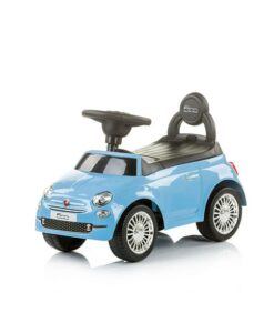 loopauto fiat 500 blauw product afbeelding