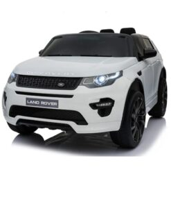 Elektrische auto Land Rover Discovery wit productafbeelding