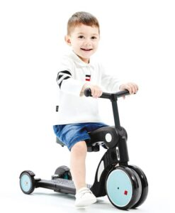 Loopfiets chipolino all ride 4 in 1 blauw scooter