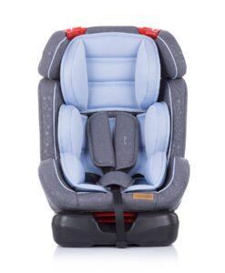 Autostoel Chipolino Orbit blauw voorkant